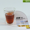 Christmas gift,Promotional Handcrafted Pyrex 100cc double wall glass coffee cup