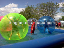 Hot Sale Popular Summer Playing Colorful Inflatable Water Ball