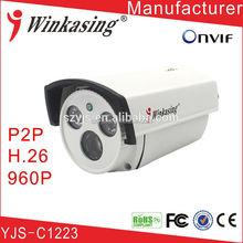 digital camera with av input Cost-effective infrared megapixel CCTV digital security camera IP Camera YJS-C1223
