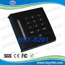 HSY-S201 Factory price RFID card access system with keypad support 1600 card users