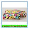 Full printing PVC PU material pen zipper case wholesale pencil case