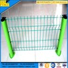 Pvc coated bending welded v mesh fence
