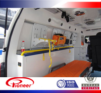 Ambulance interior inserts for caravan/ambulance aluminum inserts