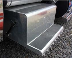 Professional custom Aluminum tool box for truck. heavy vehicle use tool box