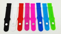 Cheap Wristband Wholesales Colorful Silicon Bands For apple watch Strap Band
