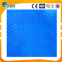 PVC material 4.0mm thickness energy saving blue pool solar cover
