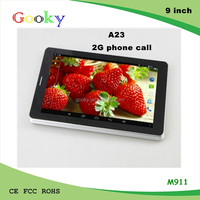 Hot sale 9 inch Bluetooth A23 Dual core 512MB RAM 8GB HDD tablet pc prices