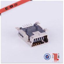 mini usb a type 5p connector ab type micro usb 5p pcb smd mini usb 5p b type connector connector