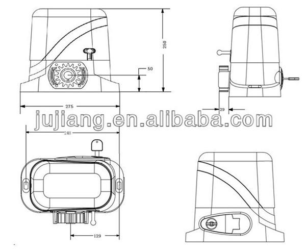 heavy duty sliding door operators automatic sliding gate motor  view sliding gate motor  giant