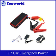 2015 Hot Portable High Power T7 Model 12000mAh 12V Lithium Battery Car Emergency Power Jump Starter