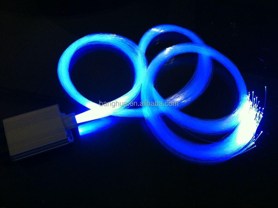 PMMA end glow 1.5mm lighting plastic fiber optic