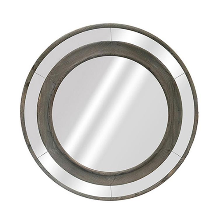 도매 중국 나무 라운드 프레임 골동품 유리 거울 공장-거울 -상품 ...