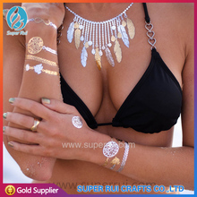 Free sample and high quality temporary tattoo supply for body decoration