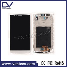 2015 LCD screen for LG G3 D855 display touch glass replacement