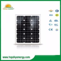 50w 17.5V 3.23A OEM/ODM mono grade A wholesale prices of solar panel made in China