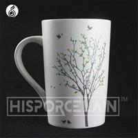 ceramic mug chinese porcelain traditional technology OEM factory large cheap plain white ceramic mug