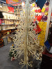 The big wooden christmas tree outdoor decoration tree for shopping mall