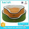 manufacturer wholesale soft and warm cozy round luxury bed cat