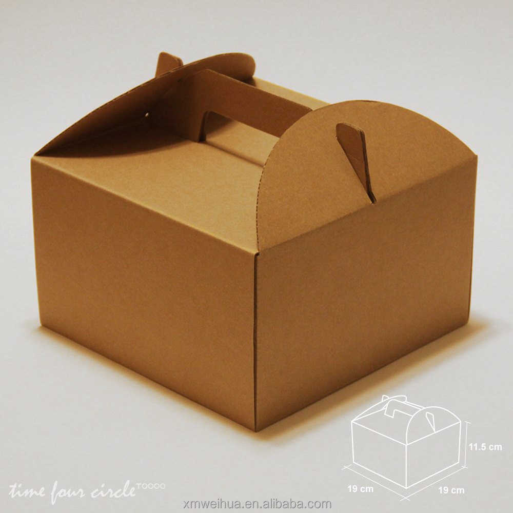 Cake Boxes With Handles Uk