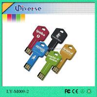 Promotion colorful custom usb stick car key shape usb flash drive