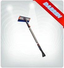 3 in 1 Multifuctional Car Cleaning Tool Aluminum Gutter Cleaning Brush with Telescopic Handle