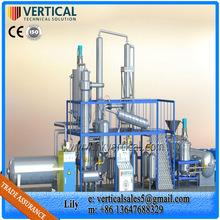 Used oil of cars diesel purifier Used oils of motors