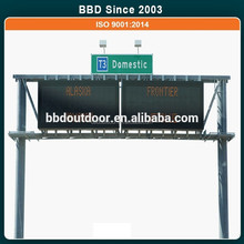 China latest products small size highway electronic notice boards