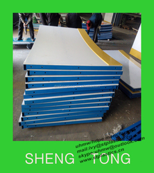 Uhmwpe floorball rink barriers, uhmw-pe synthetic ice rink, HDPE plastic skateboard made in china