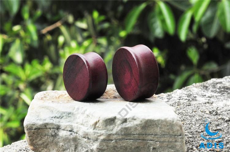 Healthy Material Luxury Jewelry In Dubai Rose Wood Earring Plug  (6).jpg