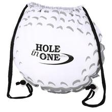 golf ball drawstring bag / nice drawstring backpack / good sport drawstring bag