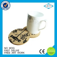 Top quality eco-friendly drink coasters / cork pad /cork mat for decoration