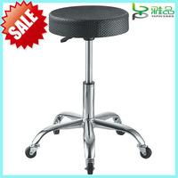 2014 Yapin hot sale black hairdresser salon cutting saddle stool YP-219