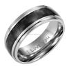 Wholesale Men Cock Ring, New Mens 8mm Black Carbon Fiber Titanium Ring Engraved