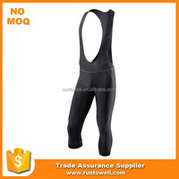 Full digital sublimation 3/4 Cycling Bib short/cycling bib pant/cycling bottom
