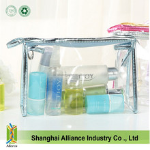 clear plastic Cosmetic Beauty Bag Travel Zipper makeup Pouch