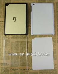 blank custom sublimation case for ipad mini