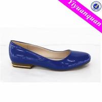 Ladies Fashion Leather Shoes Flat Pumps