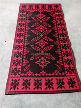 pattern/size /color can be customized 100% pp muslim style prayer mat
