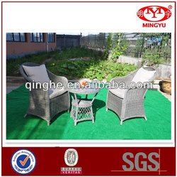 outdoor sofa wholesale PE rattan and Aluminum frame garden furniture set