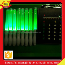 Flashing led stick ideal cheering stick for party glow light stick hot item 2015 new remote control 15colors changing glow stick