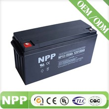 12V 150AH Sealed Lead Acid Storage Battery Rechargeable 12 Volt