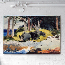 Canvas paintings wholesale Canvas prints supplies from China