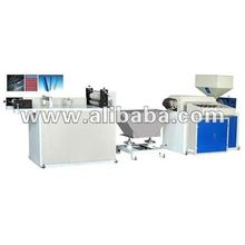 Model ZIP-45 Plastic Zipper Extruder Machine
