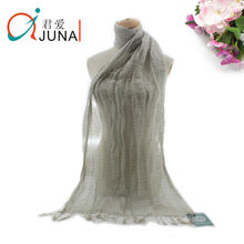 50% 50% de algodón de lino bufanda 2014 caliente de la manera bufanda