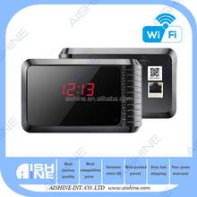 Manufacturer- HOT HD 720P WIFI P2P Table Clock Camera/ Wifi Nanny Camera/Desk Clock Hidden Camera