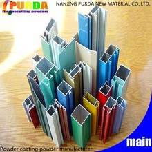 Aluminium Profile Chemical Resistant Polyester Powder Paint