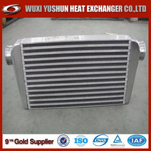 High performance custom made aluminum intercooler plate/ car radiator