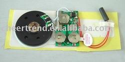 greeting card/magazine/book light sensor voice module