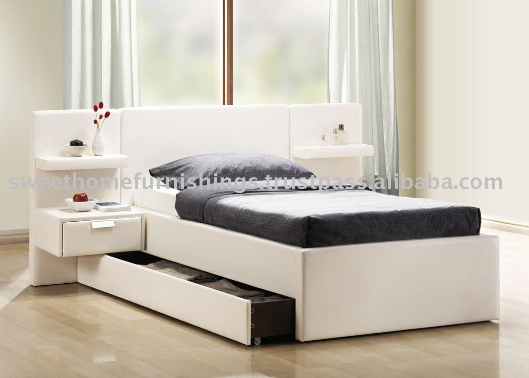 Furniture Beds Furniture Children Single Bed Faux Leather Bed New Bed