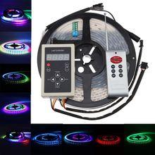 5050 RGB 150led/5m Dream Color 6803IC LED Strip light + RF controller 133 changes types 5050 RGB 150led/5m Dream Color 6803IC LE
